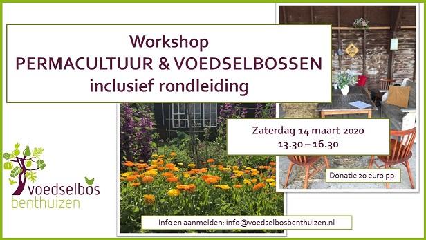 Workshop Permacultuur & Voedselbossen met rondleiding